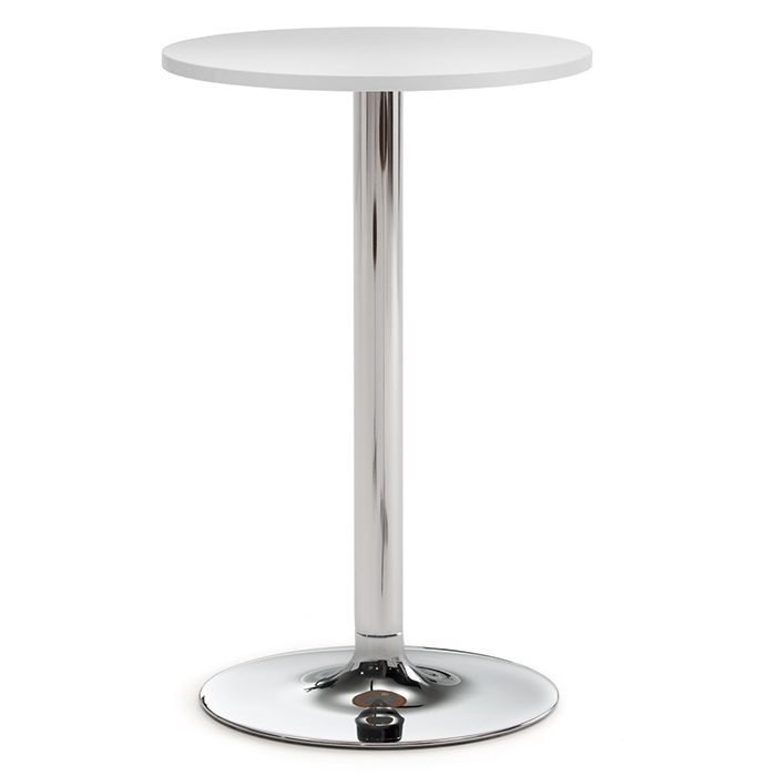 High round table with pedestal base
