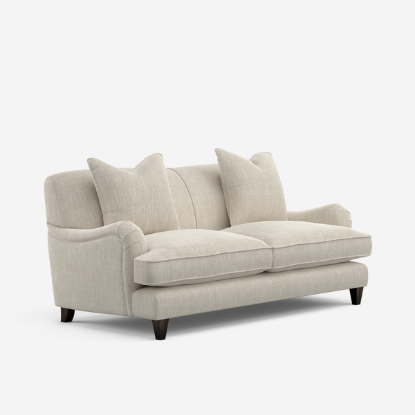 Clara sofa in white fabric