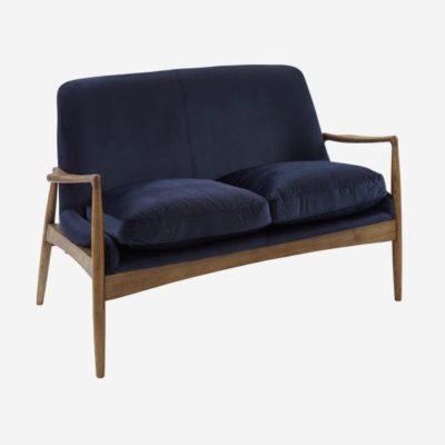 Dark blue Crispin sofa