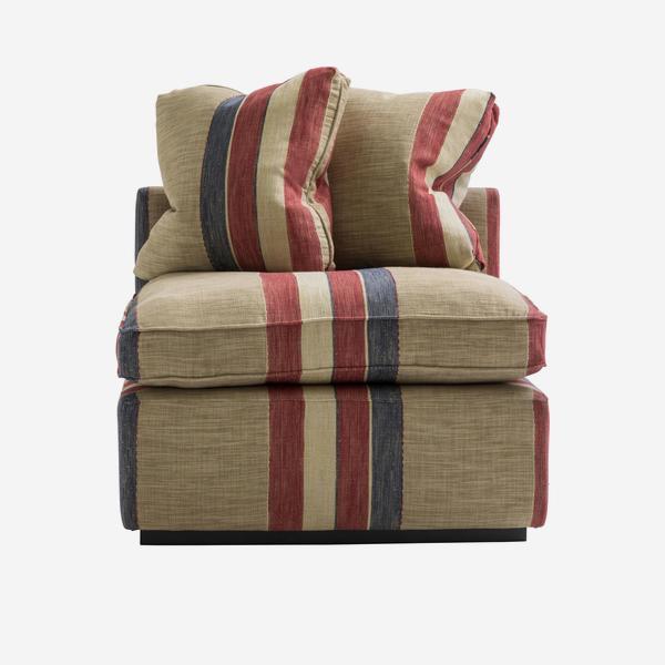 Ebury armless sofa section