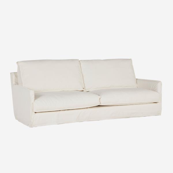 white Etienne sofa