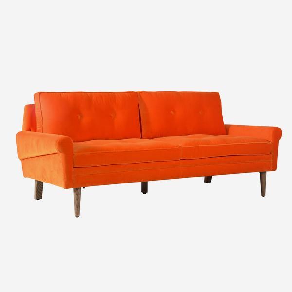 Firecracker sofa in orange