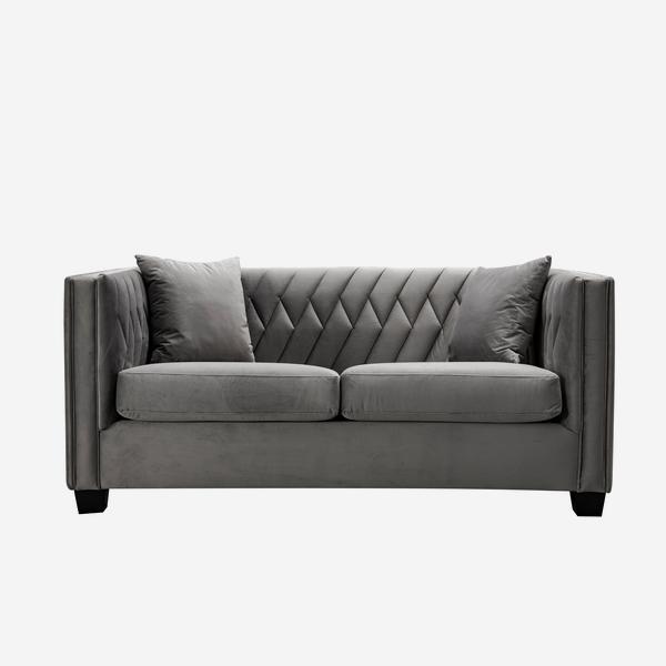 Small Renee sofa in grey