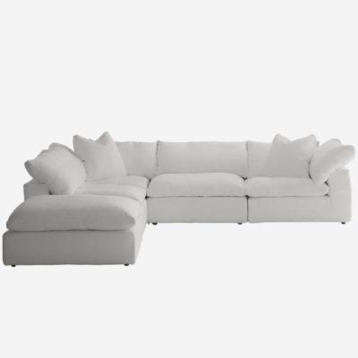 White Truman junior sofa