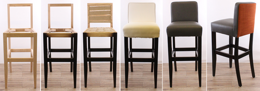 Bespoke bar stool design and manufacture