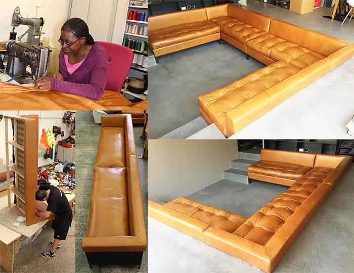 Bespoke sofa manufacture