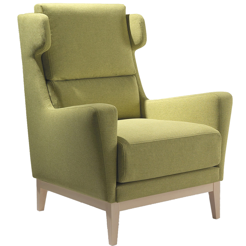 Carina contemporary hotel armchair