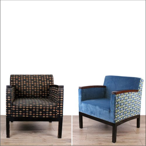 Executive lounge chair reupholster