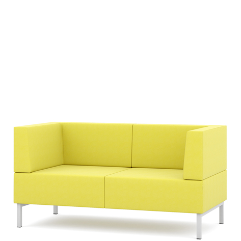 Fence two seater sofa