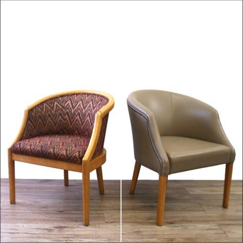 Tub chair reupholstery