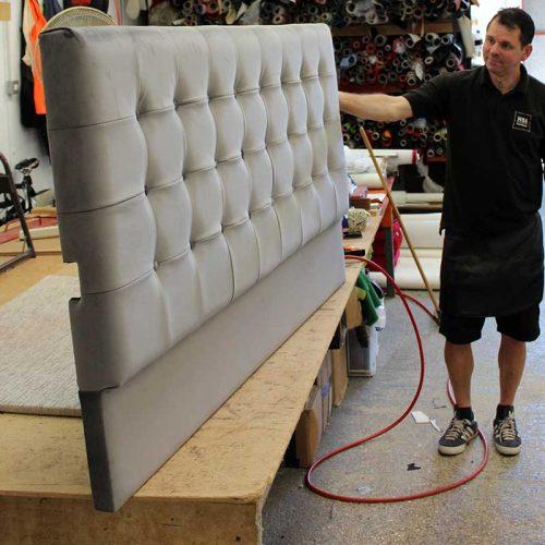 Headboard manufacture