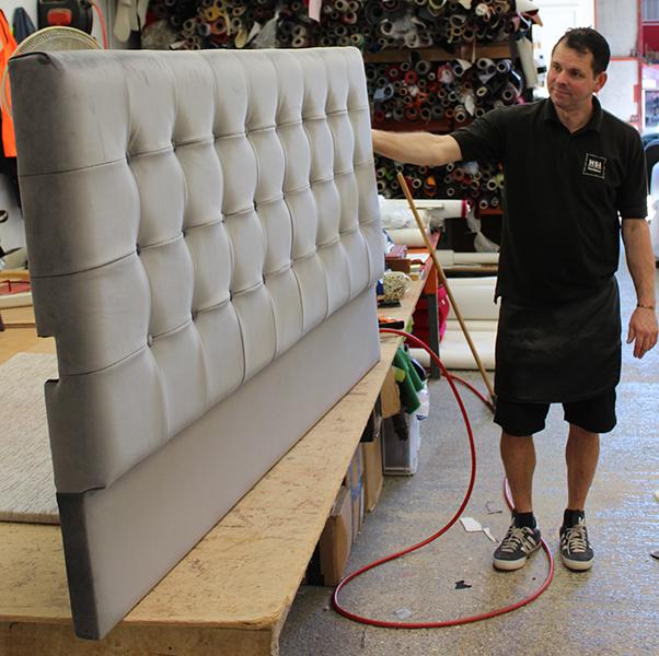 Bespoke headboard manufacture