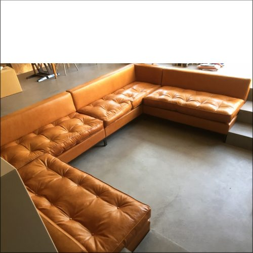 Large bespoke sofa manufacture