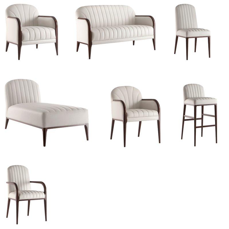 Lucca seating range
