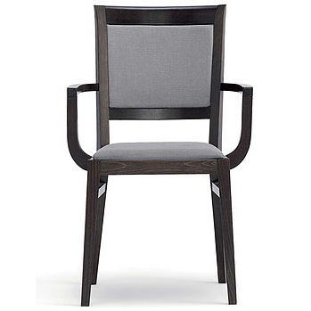 Black and grey chair