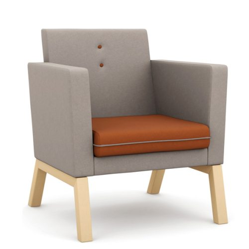 Pledge Me Myself & I medium back armchair