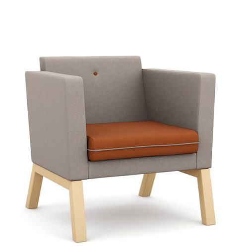 Pledge Me Myself & I low back armchair