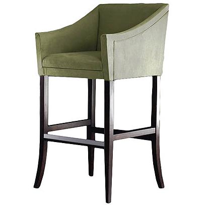 Green bar stool