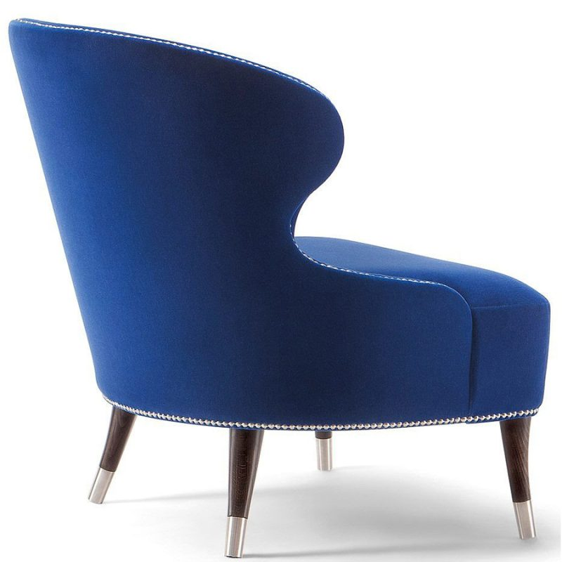 Tulip hotel lounge chair - rear view