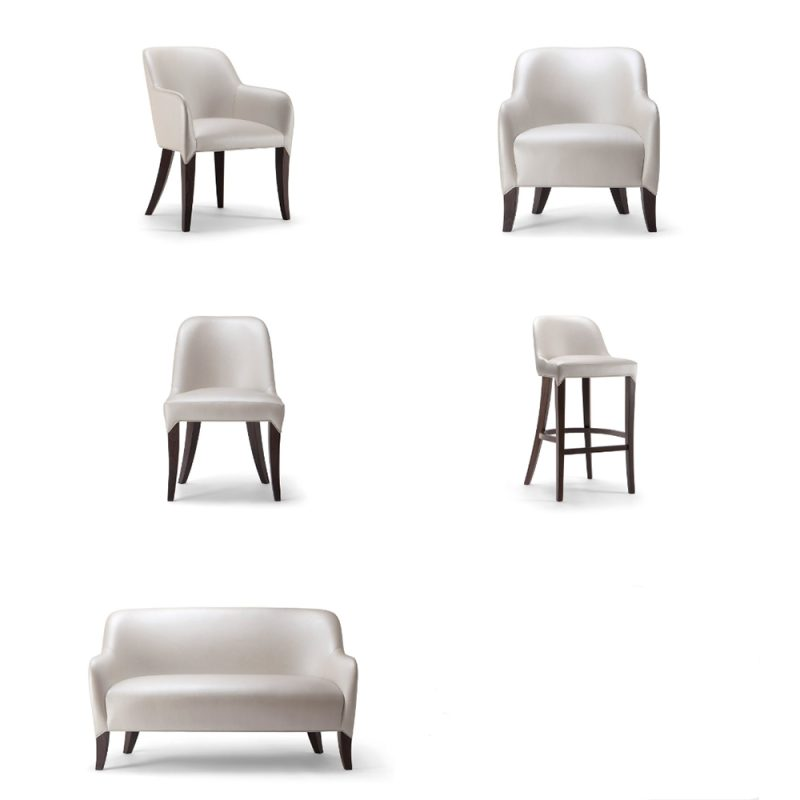 Vanessa hotel seating range